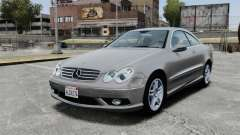 Mercedes-Benz CLK 55 AMG Stock para GTA 4