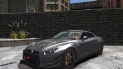 Nissan GT-R v1.1 Tuned para GTA 4