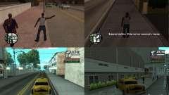 Taxi paso v. 2 para portátiles para GTA San Andreas