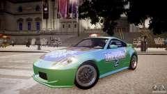Nissan 350Z Underground 2 Style para GTA 4
