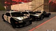 Police Civic Cruiser NFS MW para GTA San Andreas