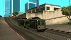 New tram mod para GTA San Andreas