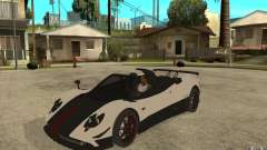 Pagani Zonda Cinque Roadster para GTA San Andreas