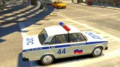 Policía Vaz 2105