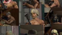 Sombreros de Call of Duty 4: Modern Warfare para GTA San Andreas