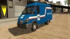 Correo 2705 gacela de Rusia para GTA San Andreas
