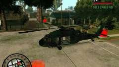 Blackhawk UH60 Heli para GTA San Andreas