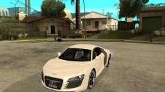 Audi R8 light tunable