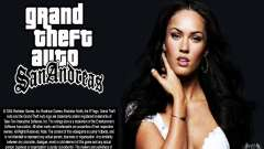 Las pantallas de arranque (Megan Fox) HD para GTA San Andreas