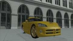 Dodge Viper SRT-10 (víbora de oro) para GTA San Andreas