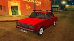 VAZ 2105 rojo para GTA San Andreas