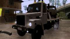 GAZ 3309 grúa