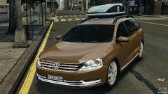 Volkswagen Passat Variant B7 para GTA 4