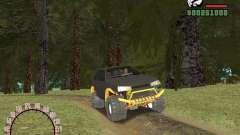 Vaz 21099 4 x 4 para GTA San Andreas