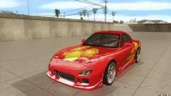 Mazda RX-7 - FnF2 para GTA San Andreas