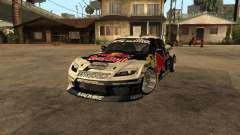 Mazda RX-8 RedBull para GTA San Andreas