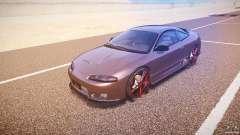 Mitsubishi Eclipse Tuning 1999 para GTA 4
