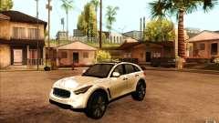 Infiniti FX50 Beta para GTA San Andreas