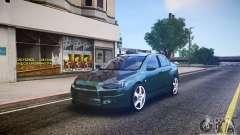 Mitsubishi Lancer Evo X Drift para GTA 4