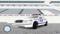 Ford Crown Victoria 2003 NYPD para GTA 4