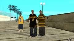 Reemplace todas las pieles de Los Santos Vagos pandilla para GTA San Andreas