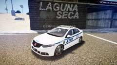 Honda Accord Type R NYPD (City Patrol 7605) ELS para GTA 4