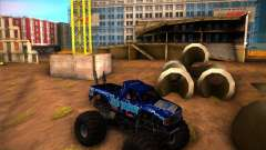 Monster Truck Blue Thunder para GTA San Andreas