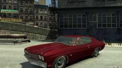 Chevrolet Chevelle SS 454 v2 para GTA 4