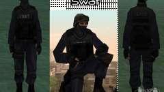 HQ skin S.W.A.T para GTA San Andreas