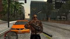 GTA IV HUD v1 by shama123 para GTA San Andreas