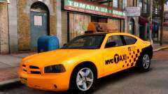 Dodge Charger NYC Taxi V.1.8 para GTA 4