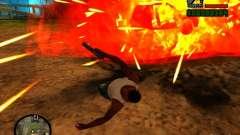 Basura de la explosión