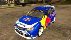 Nuevos vinilos para Subaru Impreza WRX STi para GTA San Andreas