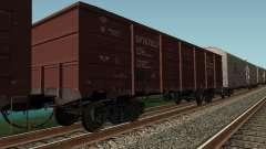 Empresa de carga carro abierto para GTA San Andreas
