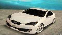 Hyundai Genesis 3.8 Coupe para GTA San Andreas