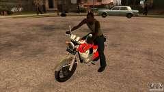 Honda CB 125 para GTA San Andreas