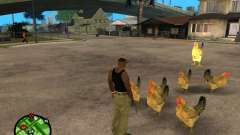 Pollos en GTA San Andreas