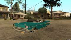 Chevrolet Bel Air 1956 Convertible para GTA San Andreas