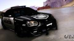 Subaru Impreza WRX STI Police Speed Enforcement para GTA San Andreas