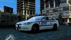 NYPD Chevrolet Impala 2006 [ELS] para GTA 4