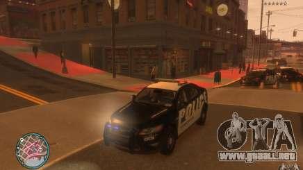 Ford Taurus Police para GTA 4