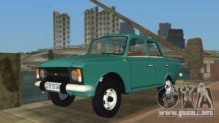 Moskvitch IZH 412 para GTA Vice City