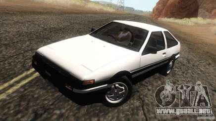 Toyota Sprinter Trueno AE86 GT-Apex para GTA San Andreas