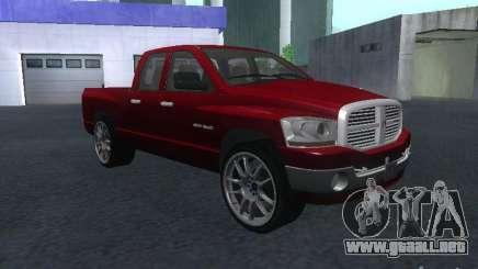 Dodge Ram 1500 v2 para GTA San Andreas