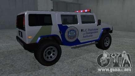 NOOSE Patriot de GTA 4 para GTA San Andreas