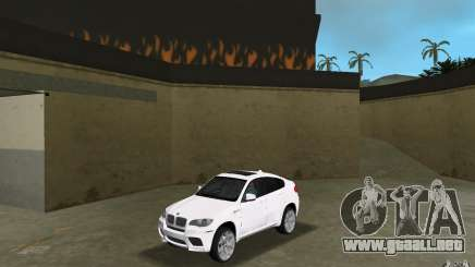 BMW X6M 2010 para GTA Vice City