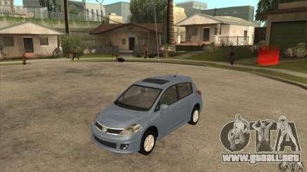 Nissan Tiida para GTA San Andreas