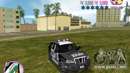Jeep Grand Cheeroke COPSUV FROM NFS:MW para GTA Vice City
