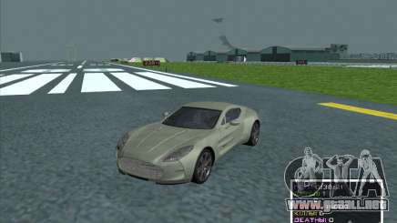 Aston Martin One 77 2011 para GTA San Andreas