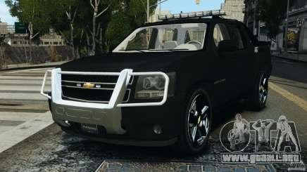 Chevrolet Avalanche 2007 [ELS] para GTA 4